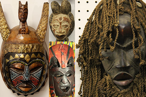 African Masks One Of A Kind Africa African Art In Hyde